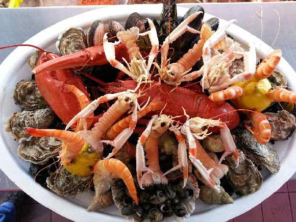 Plateaux de fruits de mer bordeaux fruit de mer m rignac - Decoration plateau fruit de mer ...